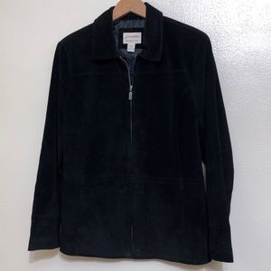 Casual Washable Suede Jacket